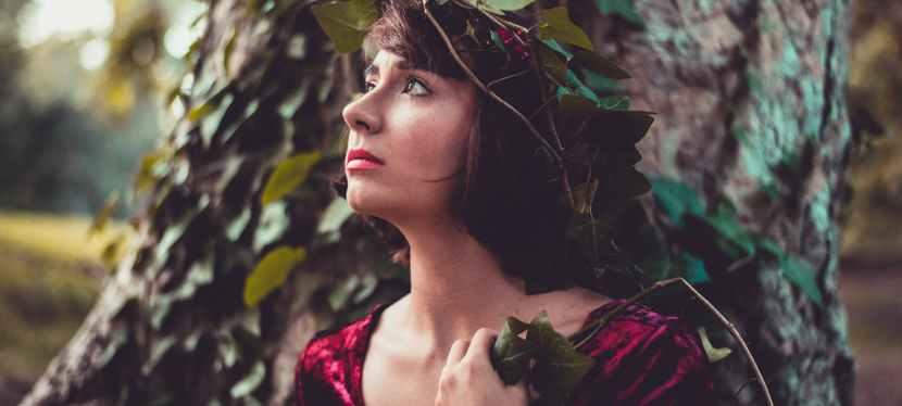 Katiana in FlutteringForest